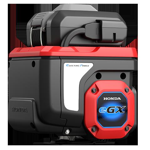 画像: 一体型電動パワーユニットの「GXE2.0H」は、全長294×全幅353×全高420mmで、重量は25.0kg(バッテリーパック含む)。バッテリーパックは、 72Vで720Whというスペックです。 www.honda.co.jp