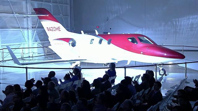画像: HondaJet 型式証明取得記念式典 youtu.be
