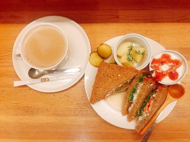 画像: 北欧料理のランチ