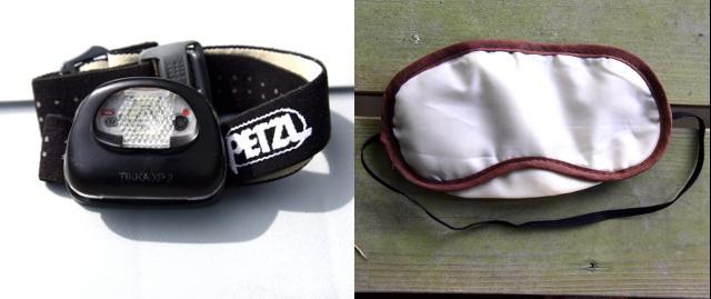 画像2: ヘッドランプ&アイマスク