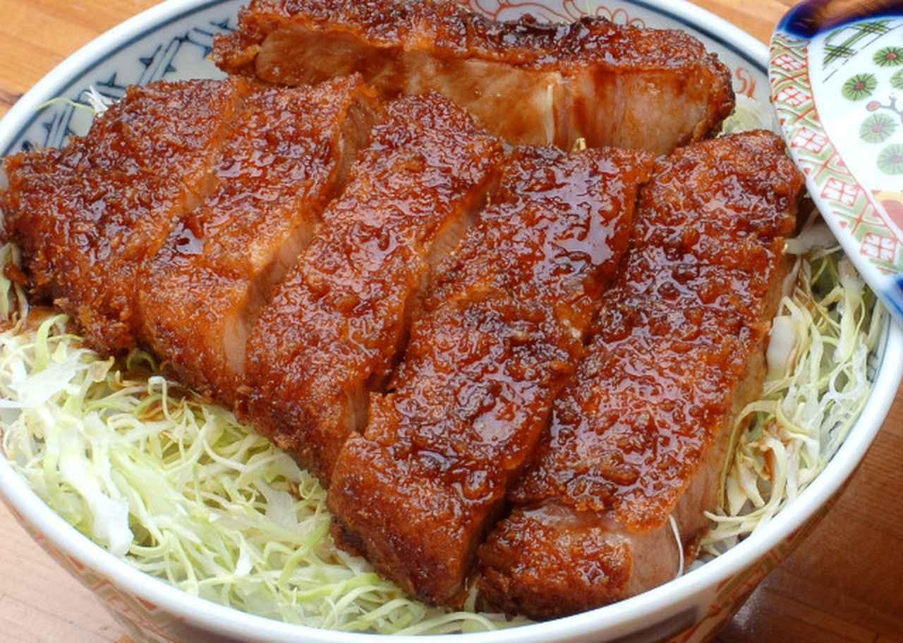 画像: 【福島県】会津ソースカツ丼