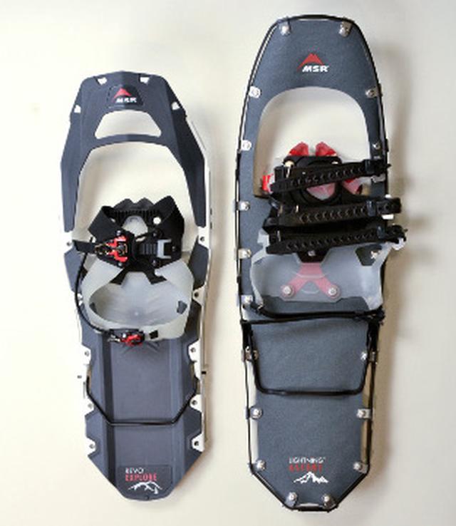 画像: 1)サイズは体重+荷物の量、雪質で選ぶ