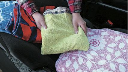 画像3: 一般車で安眠するための、カラダ水平アイデア選手権!