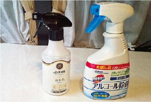 画像: 車中泊の雨対策3 除臭・除菌スプレーで臭いにサヨナラ