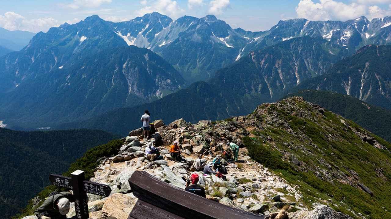 画像1: 最高の景色が待っている!山岳写真家おすすめの「テント泊縦走コース」4選