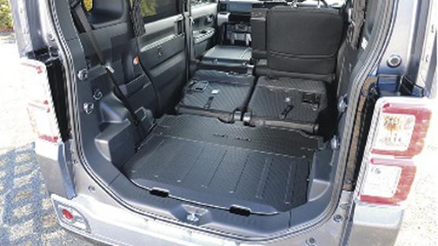 画像1: 一般車で安眠するための、カラダ水平アイデア選手権!