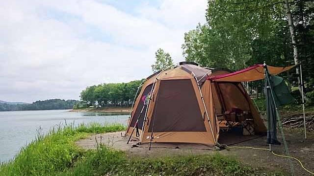 画像2: 北海道トップクラスのロケーション! 朱鞠内湖畔キャンプ場で車中泊