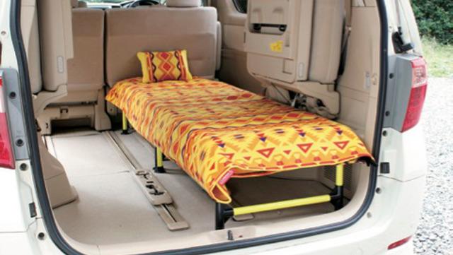 画像2: シンプルDIYで簡易ベッドもおすすめ!