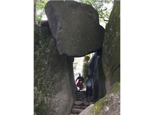 画像1: 3) 筑波山 おたつ石&白雲橋コース(茨城県) 後半は巨岩が続く冒険ルート!