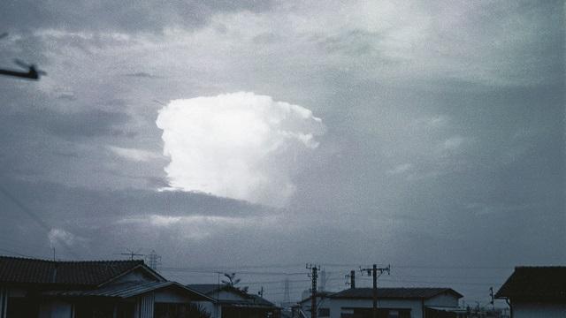 画像: 積乱雲が巨大化