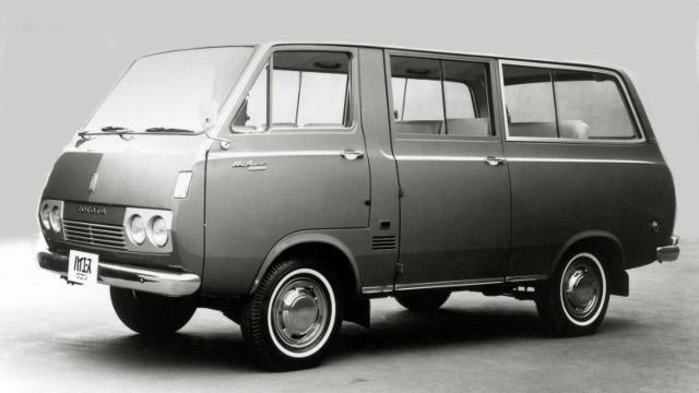 画像1: トヨタ「ハイエース」50年の系譜! ワンボックスカーの歴史を切り拓いた珠玉の名車!