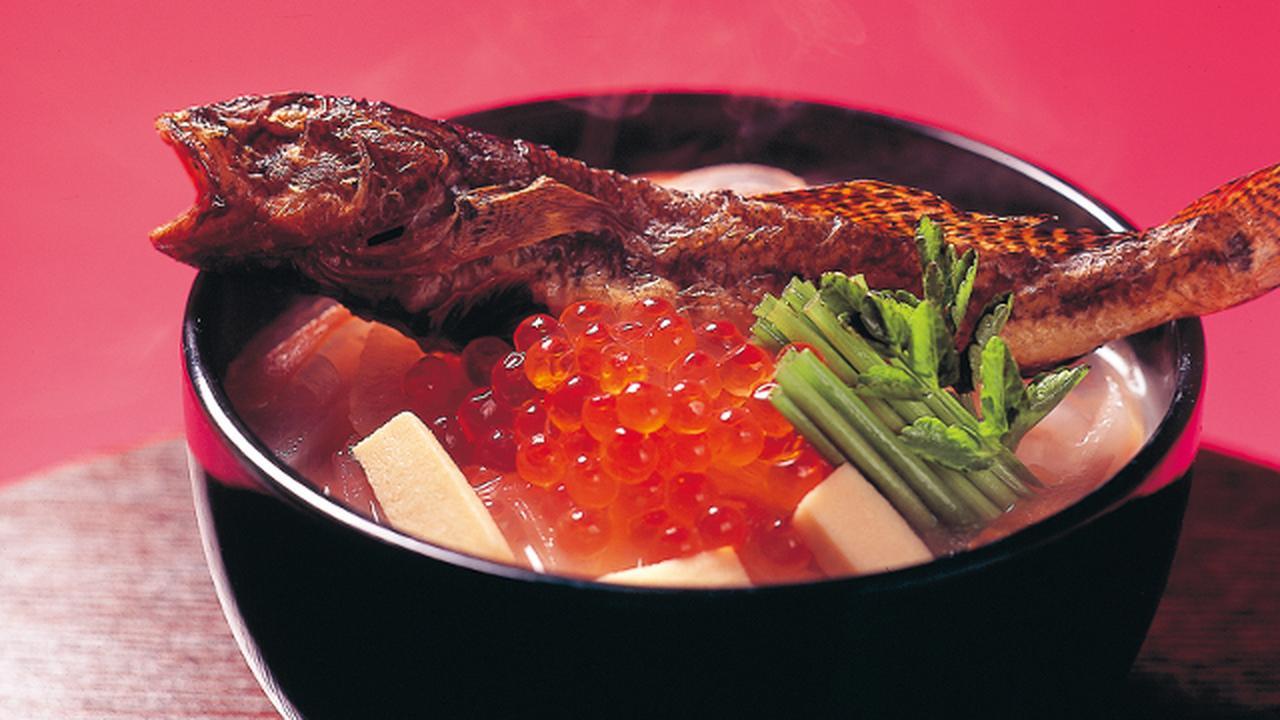 画像: 【宮城県】焼きはぜ雑煮