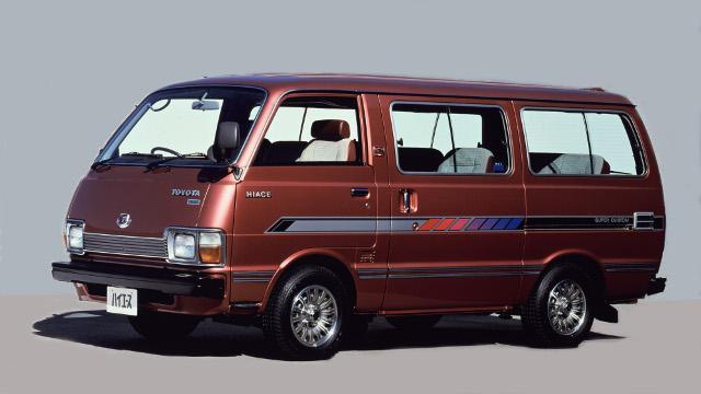 画像: 2代目ハイエースH20〜40系(1977〜1982年)