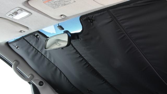 画像: ユーアイビークル  ハイエース200系遮光パッド フロント3面/リア5面