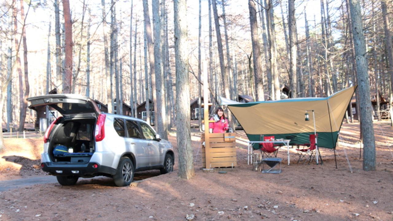 画像: 正々堂々と車中泊ができる、それがオートキャンプ場!