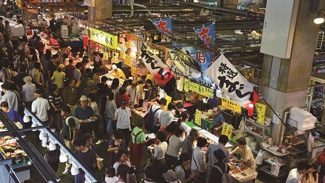 画像2: 【その2:下関】 狙い目は、週末の「唐戸市場」