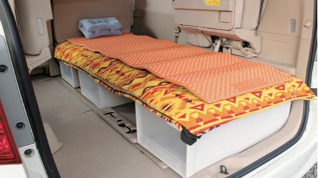 画像1: シンプルDIYで簡易ベッドもおすすめ!