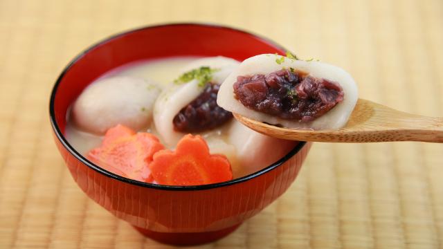 画像: 【香川県】あんもち雑煮