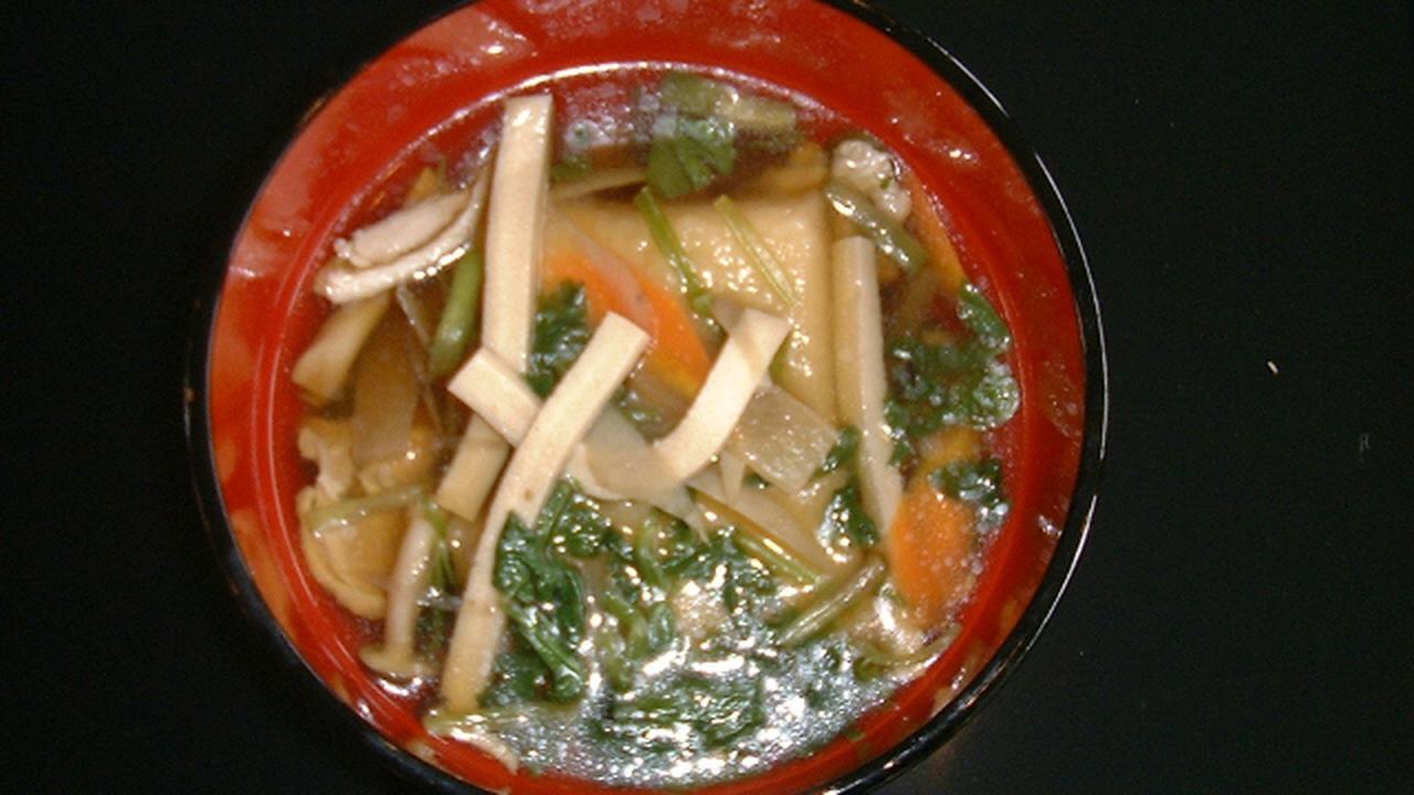 画像: 【福島県】凍豆腐(こおりどうふ)入り雑煮