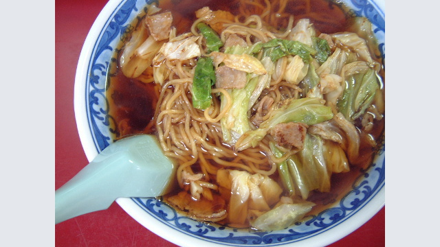 画像: 【栃木】スープ入り焼きそば
