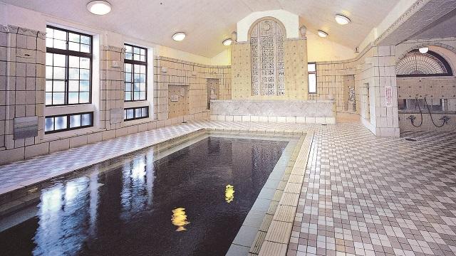 画像2: 【その2:上諏訪温泉】国指定の重要文化財、片倉館の「千人風呂」