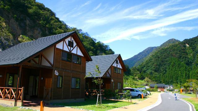 画像: 青川峡キャンピングパークの4つの魅力