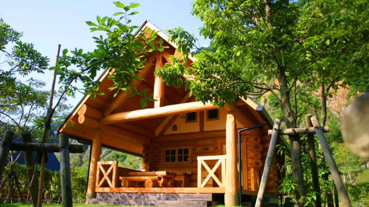 画像: 【魅力2】木のぬくもりを感じる、宿泊施設も充実!