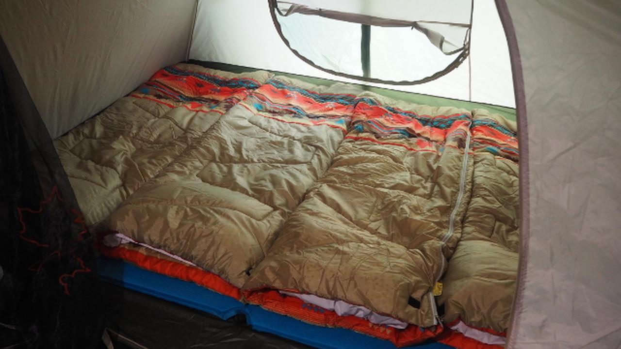 画像4: これが噂の室内テント泊ホテル