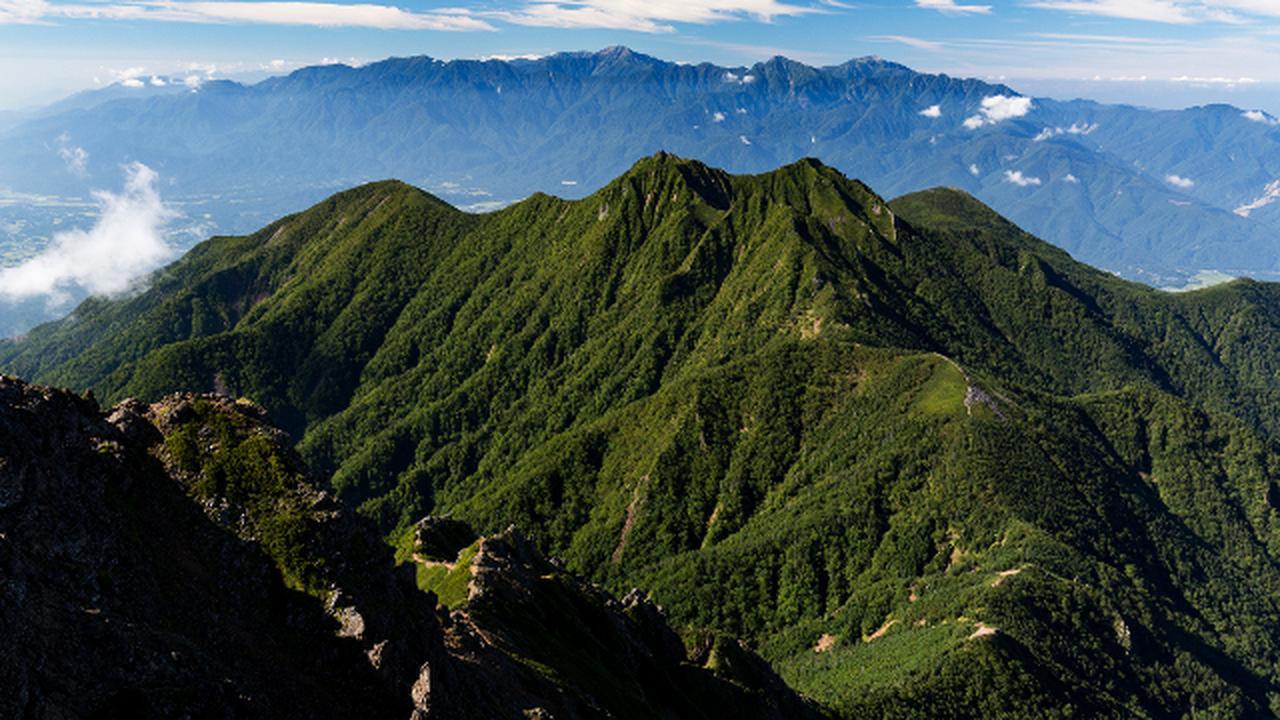画像3: 最高の景色が待っている!山岳写真家おすすめの「テント泊縦走コース」4選