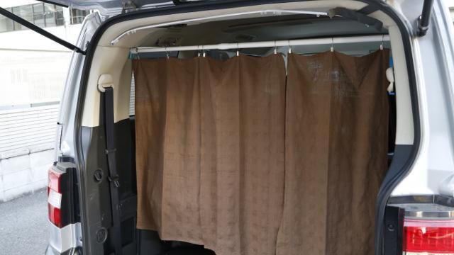 画像1: 総費用700円!簡単カーテン