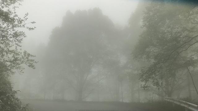 画像2: いざ、入笠山の山頂へ! しかし悪天候で周囲は真っ白……