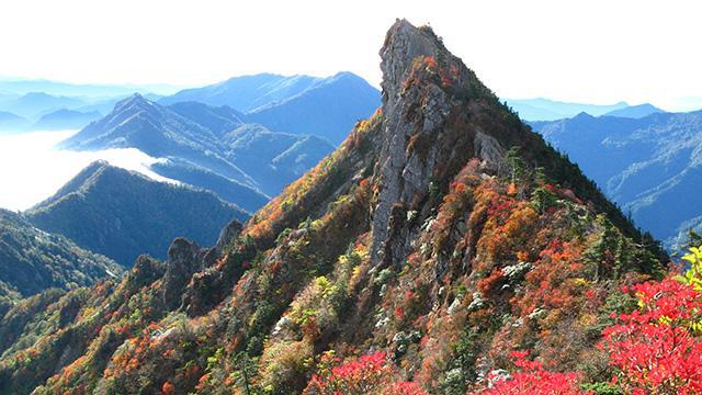 画像: 石鎚山