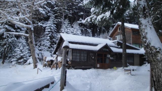 画像: 6 しらびそ小屋(通年営業) お正月1/1~2の朝は餅つきあり