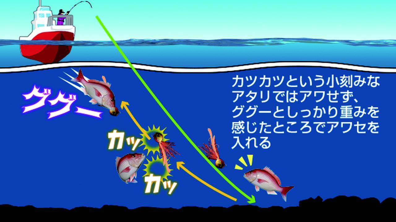 画像2: ◇海底まで落とす。巻き上げる