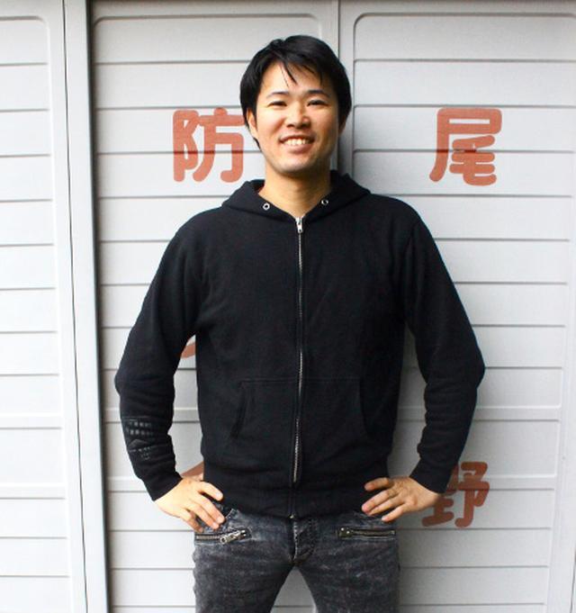 画像: 浜松の番長(?)、黒田健史師匠!