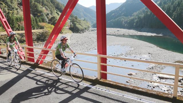 画像: 慣れないロードバイクで22km。 スイー、スイーと紀北を満喫!!