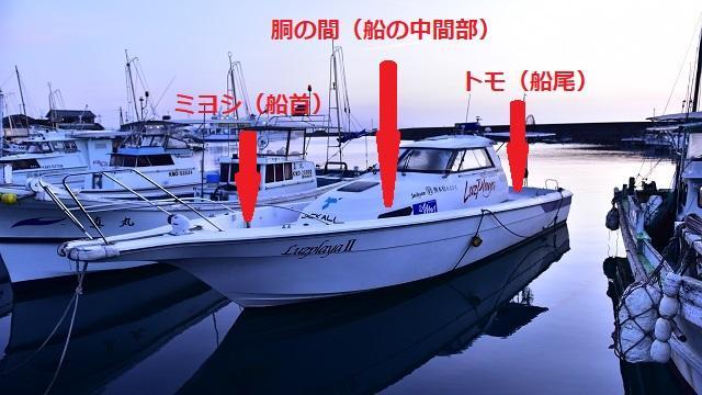 画像: ◇遊漁船のどこに乗る?
