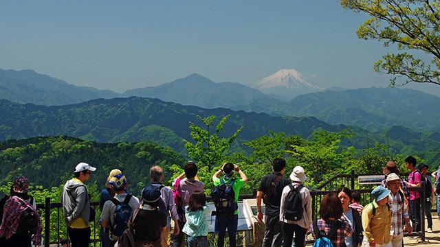 画像: 高尾山