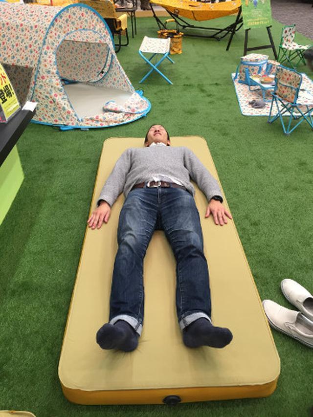 画像: コンパクト収納が可能な快適ベッドが登場!