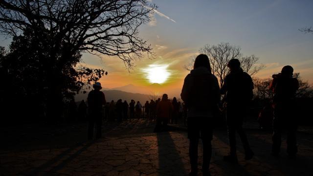 画像1: SotoPicカメラと一緒に出かけようー! 《五十路男 高尾山に登ってみた》