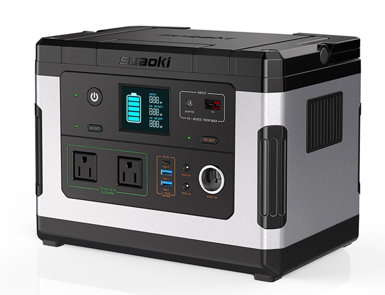 画像: SUAOKI G500 500Wh Portable Power Station