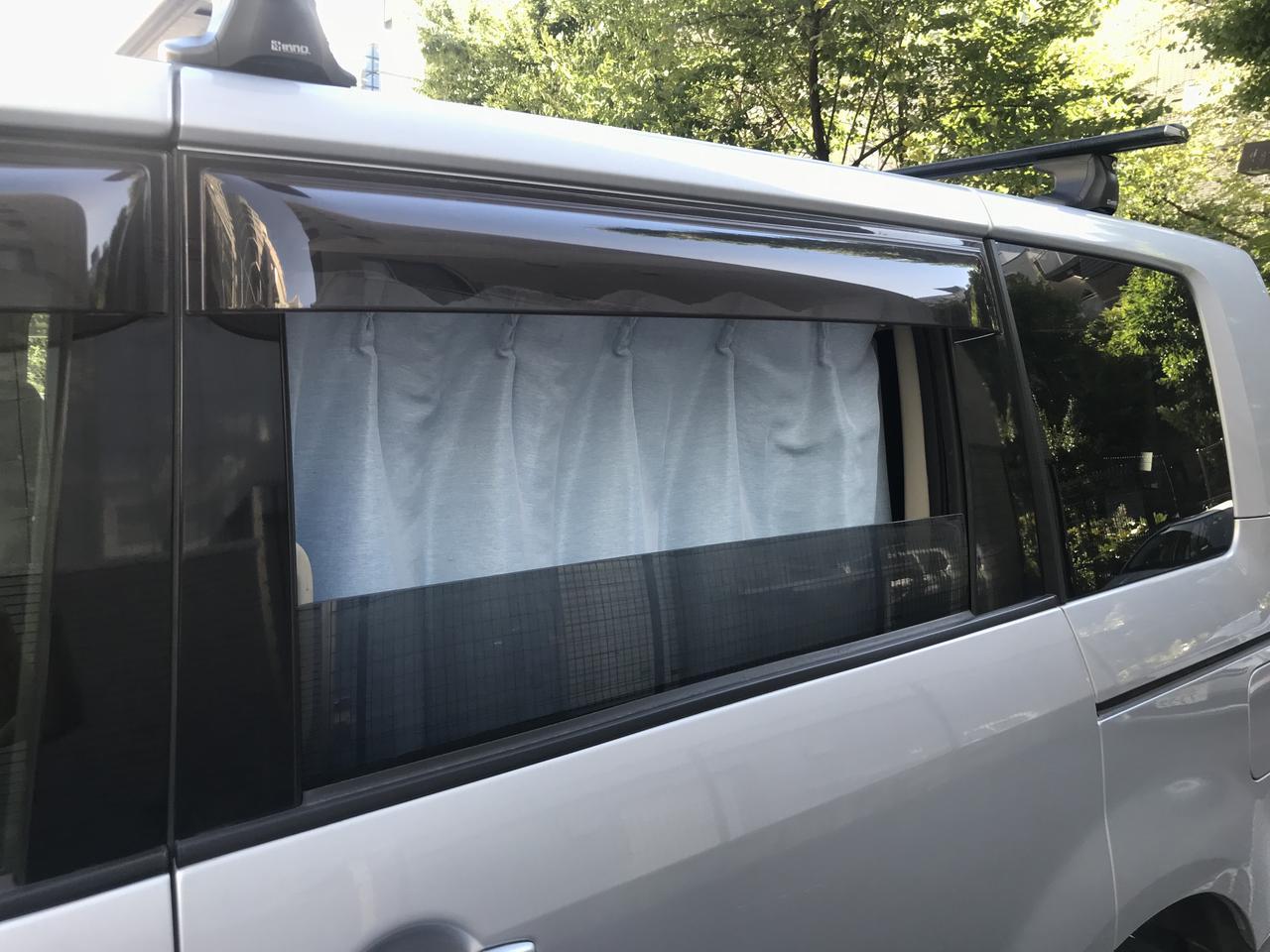 画像: ◎ 窓を開けられるので、車内に風を通せる!