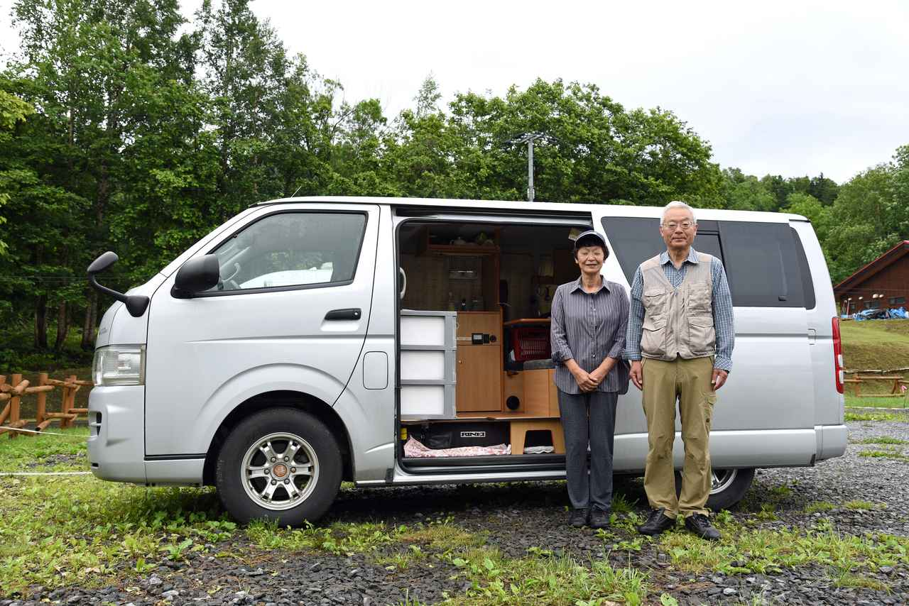 画像: File.2 松村章さん/バカンチェス(トヨタ・ハイエース バン ガソリン車)
