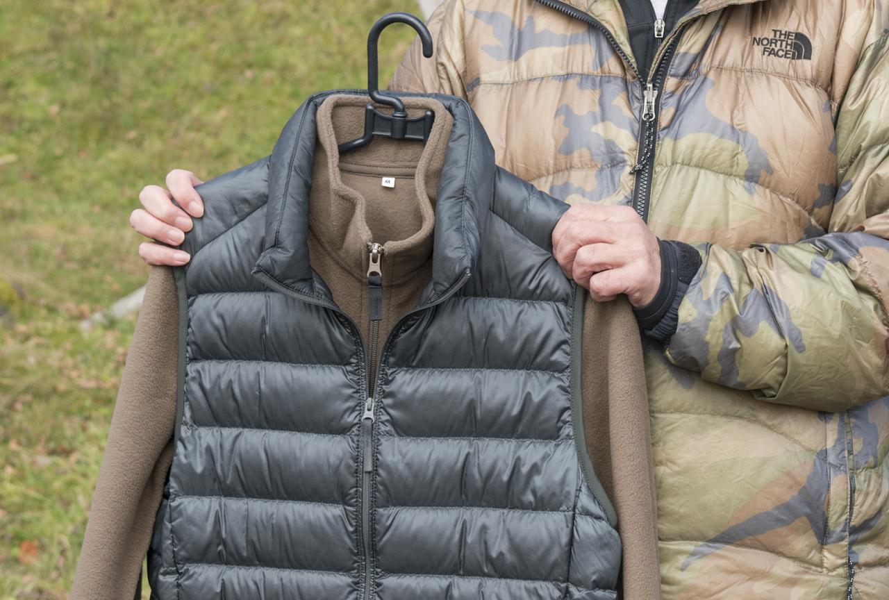 画像: その3 暖かい空気の層を保持できる、重ね着がポイント