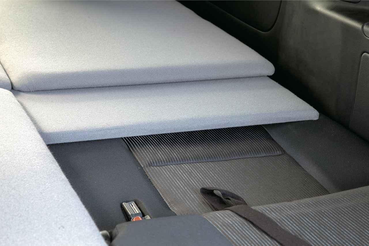 画像: シートの凹凸を解消するサポートマット