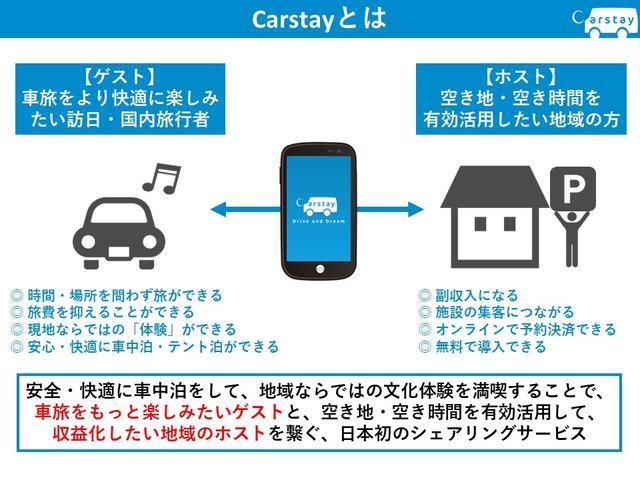 画像1: 全国の駐車場や空き地が車中泊場所に! シェアリングサービス「Carstay(カーステイ)」がスタート