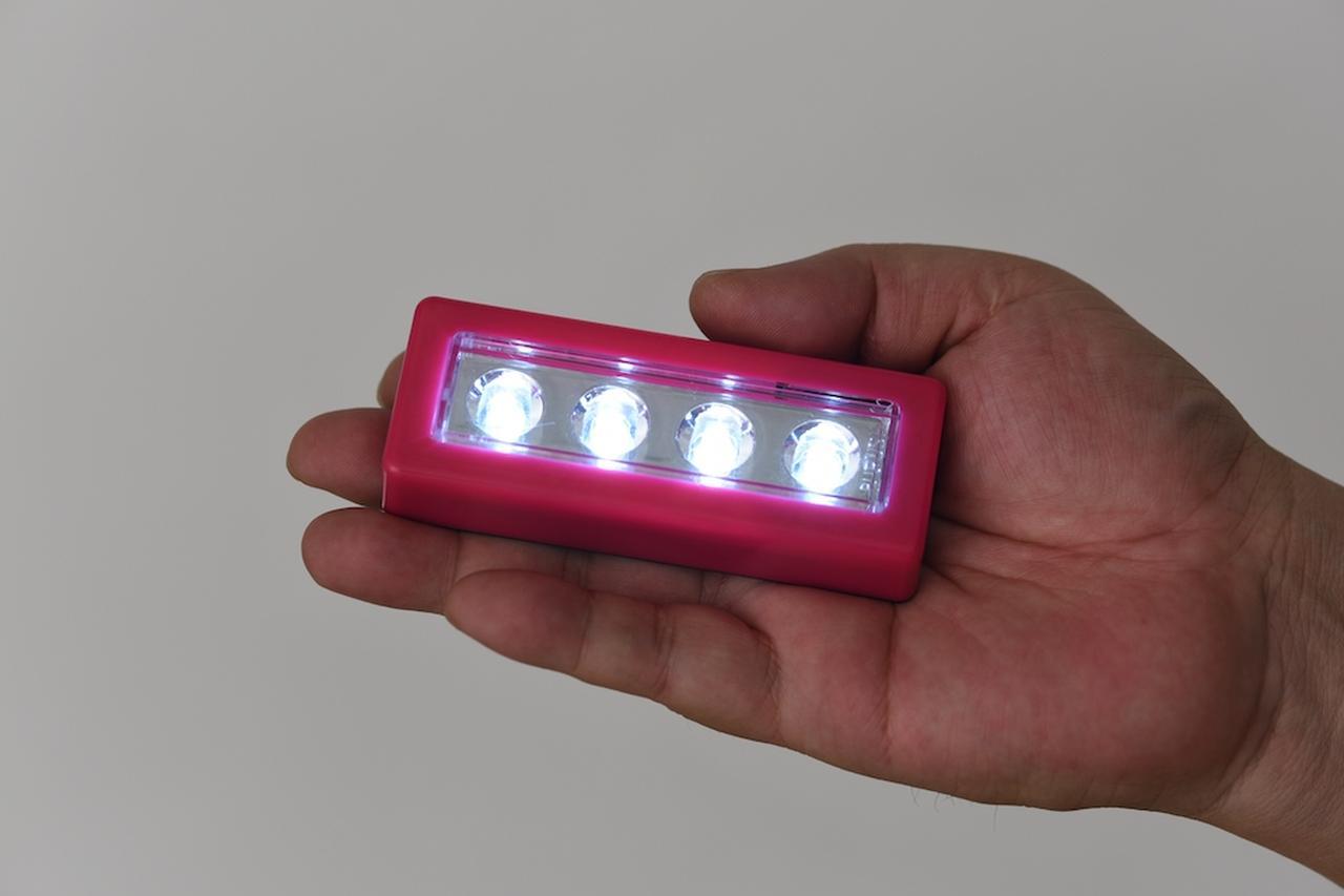 画像: 配光は完全にビーム状。ランタンとしては使いづらい