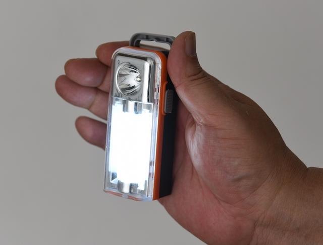 画像: 発光面積が広いSMDを使用するため、明るさも拡散性も◎