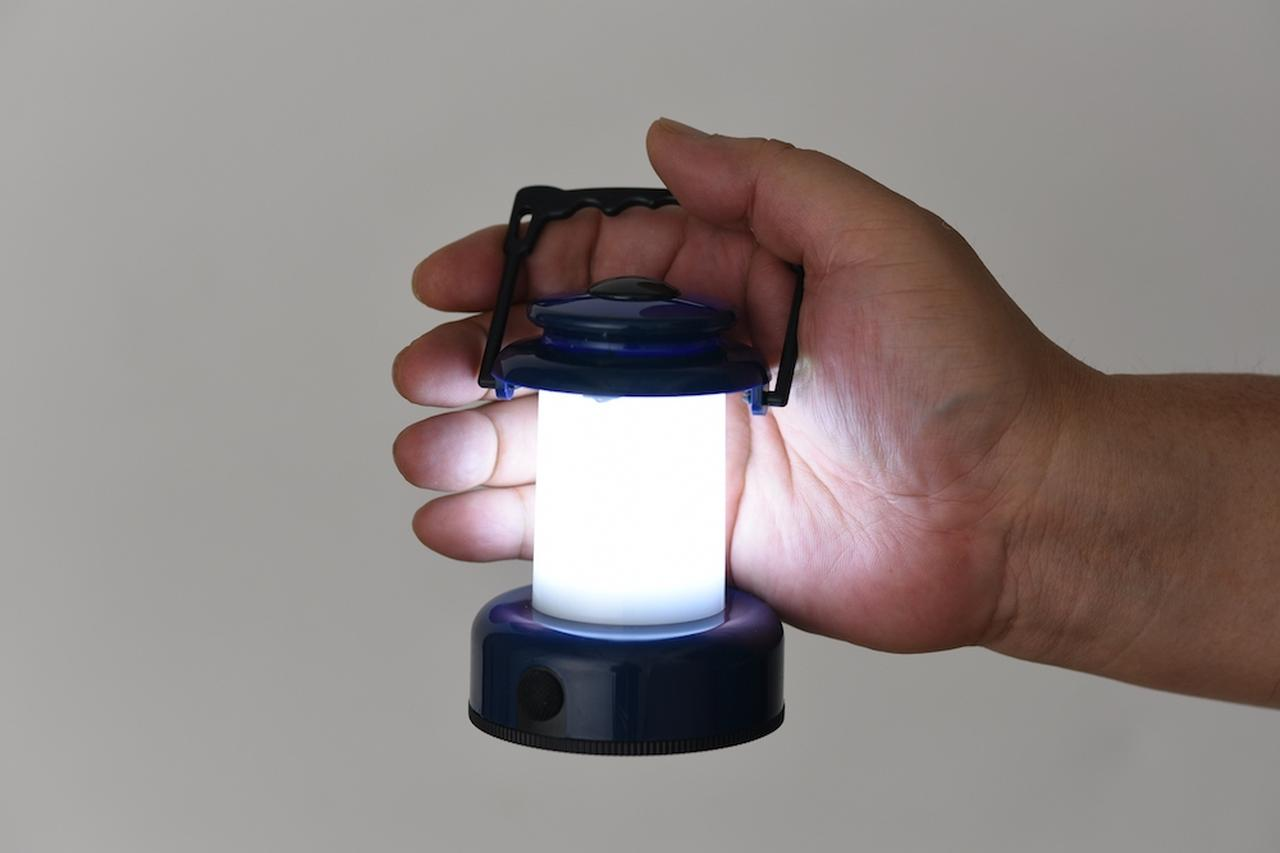 画像: 1LEDなのにこの散光性能。光源を直接見てもまぶしくない