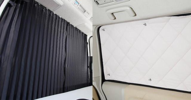 画像: カーテンorシェード 車中泊の必需品はどっちを選ぶ? - アウトドア情報メディア「SOTOBIRA」